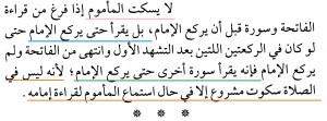 Makmum Selesai Baca Al Fatihah, Namun Imam Belum 2